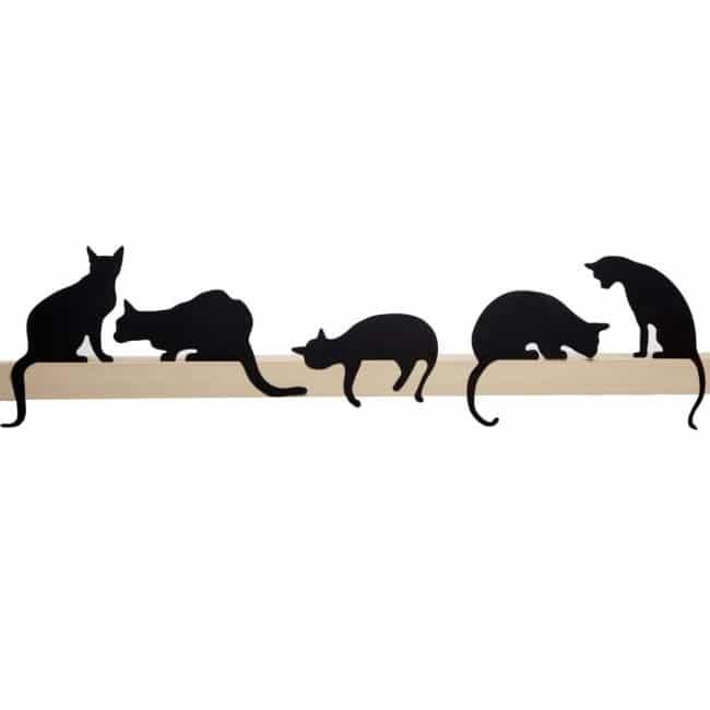 Cat's Meow - Oscar - decorative cat silhouette by Artori Design