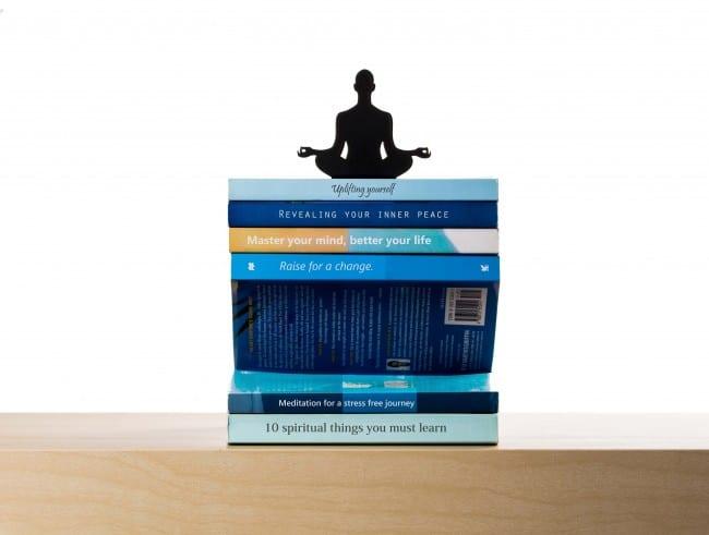 Apilador de libros de levitación
