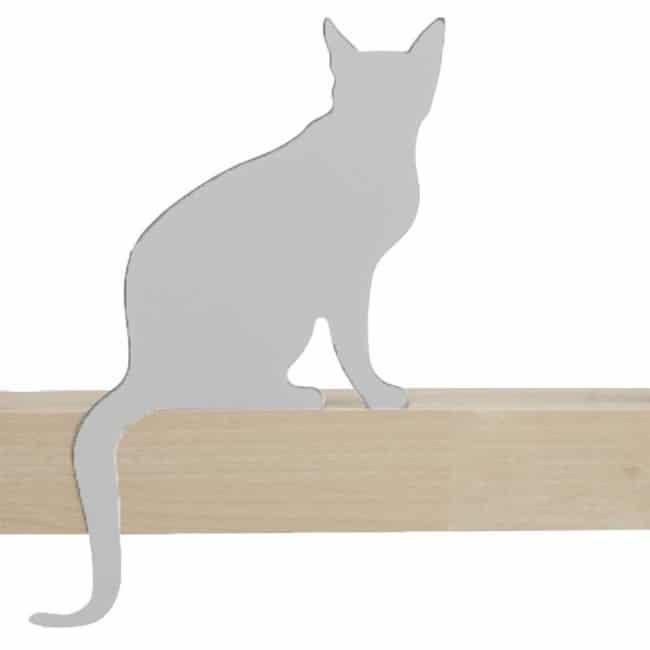 Meow de Gato - Diva - silueta decorativa del gato de Artori Design