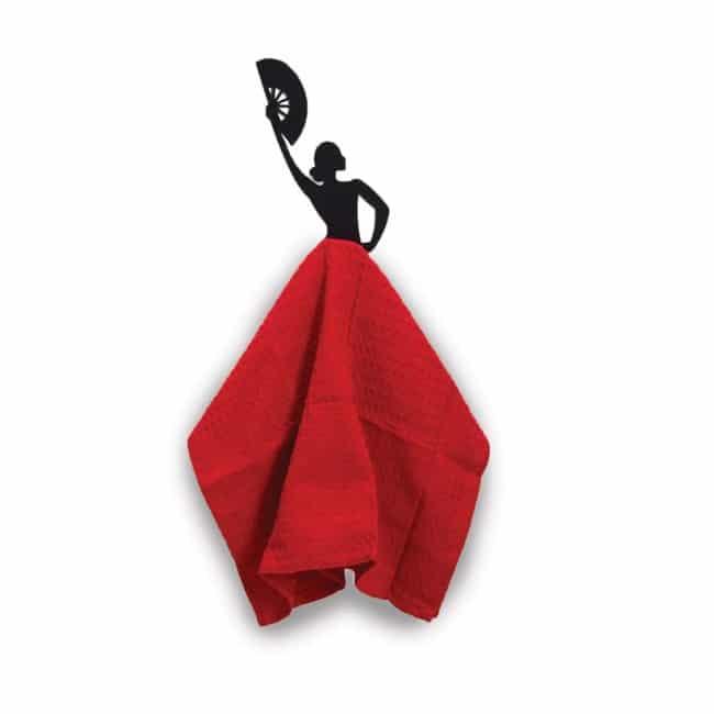 Gancho Olé - Colgador de toallas de cocina - de Artori Design