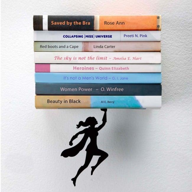 Wondershelf - Floating Bookshelf by Artori Design