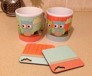 Owl Ceramic Cups