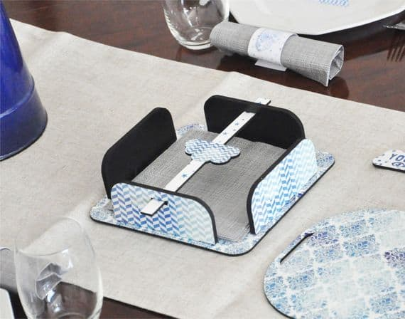 Boho Indigo Napkins Dispenser