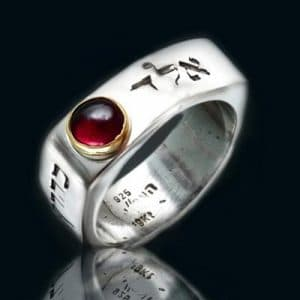 72 Names Kabbalah Ring