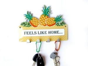 Pineapple Key Rack