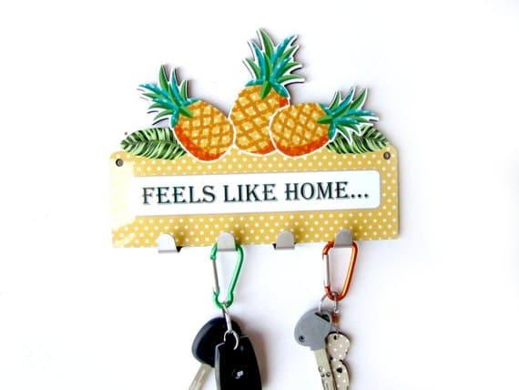 Pineapple Key Rack