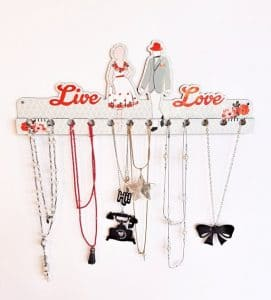 Retro Jewelry Rack