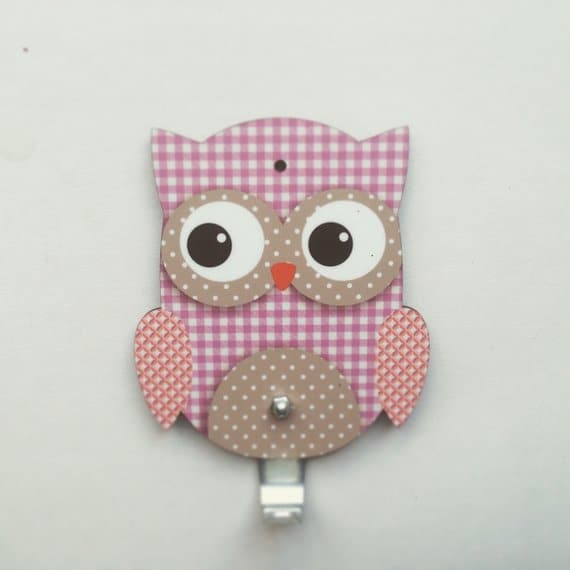 Owl kids room hanger - FREE SHIPPING