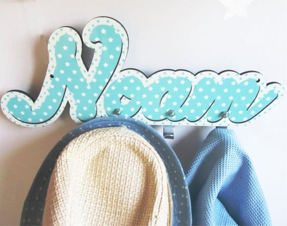 Personalized kids room hanger-FREE SHIPPING