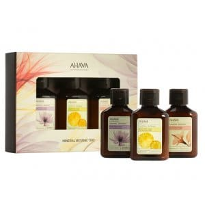 AHAVA Mineral Botanic Body Lotion Trio Kit - 85ml Each