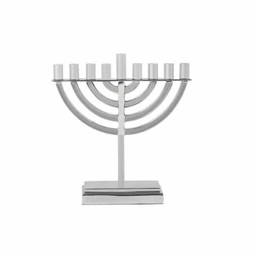 Classic Hanukkah Menorah - Natural