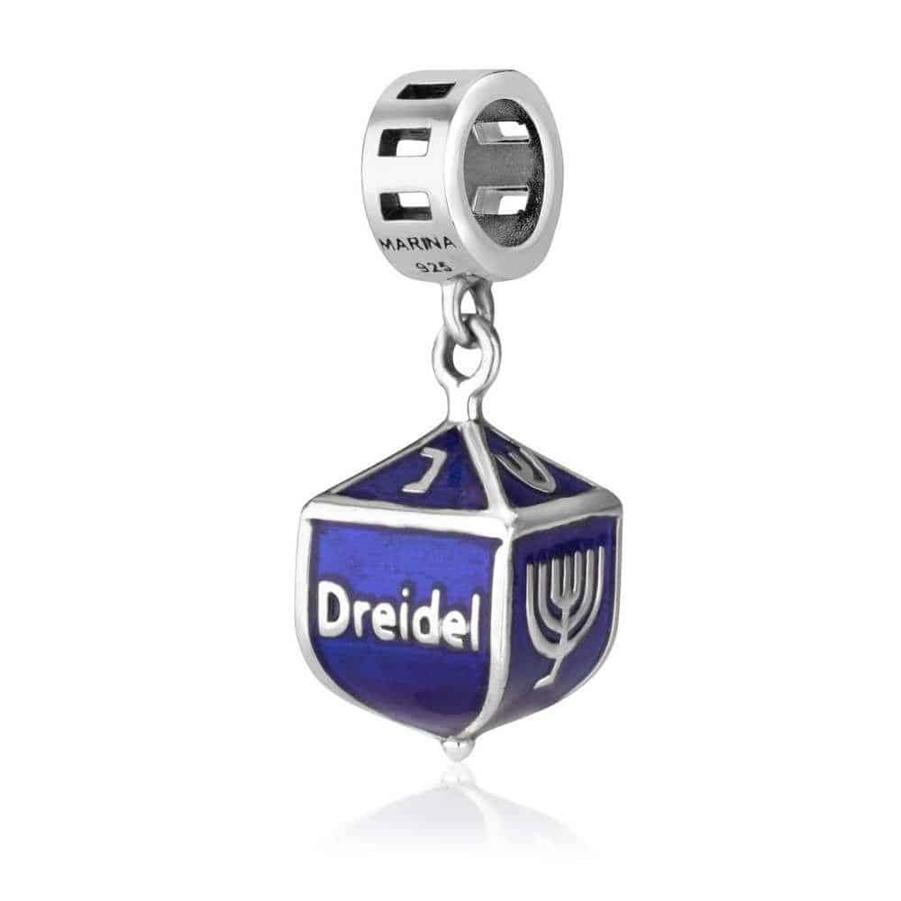 Marina Jewelry Dreidel Pendant Charm