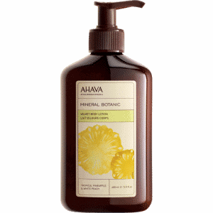MINERAL BOTANIC BODY LOTION - PINEAPPLE & PEACH