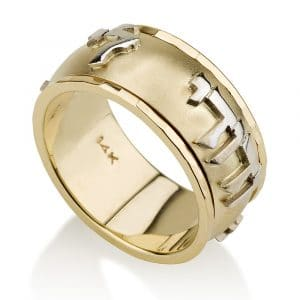 14K Ani LeDodi  - White and Yellow Gold Ring