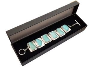925 Silver Ancient Roman Glass Bracelet