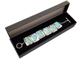 925 Silver Ancient Roman Glass Bracelet