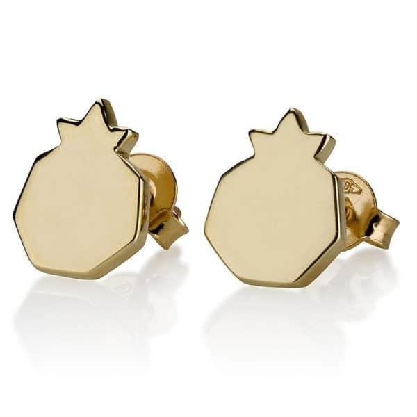 Pomegranate Stud Earrings