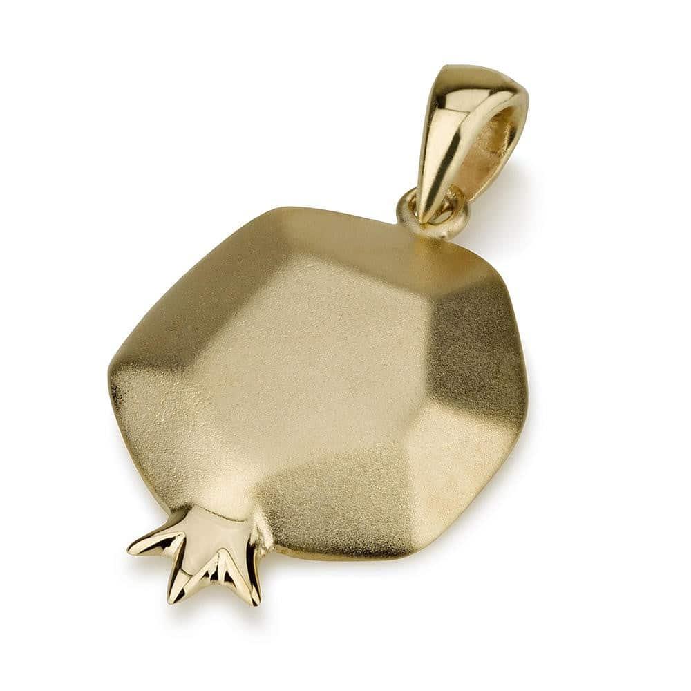 Colgante de Granada de Oro de 14 Quilates