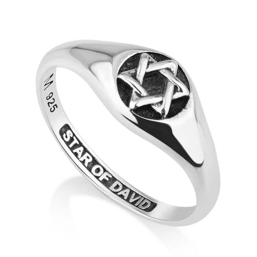Star of David Sterling Silver Ring
