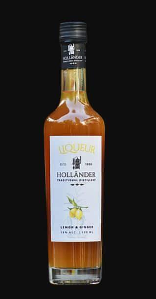 Ginger & Lemon Liqueur