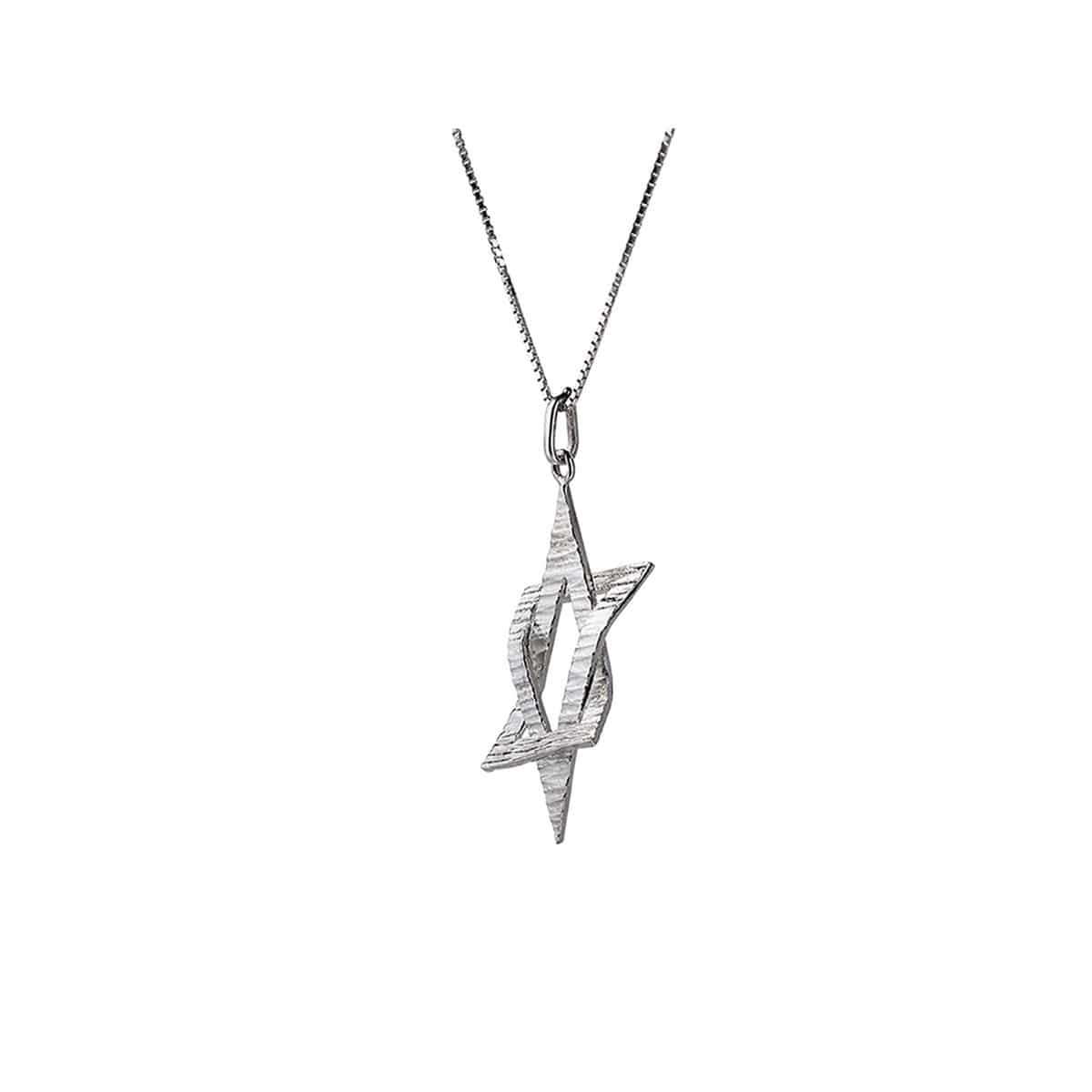 STAR Of DAVID Necklace on a Sterling Silver chain
