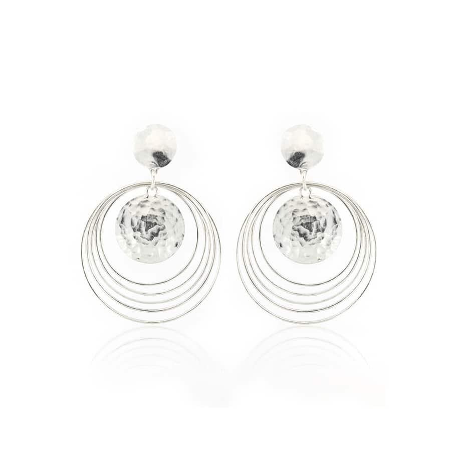 Hoop Sterling Silver Earrings