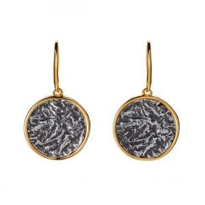 Ancient Coin Round Earrings