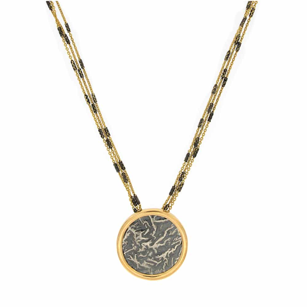 Ancient Coin gold plated Necklace