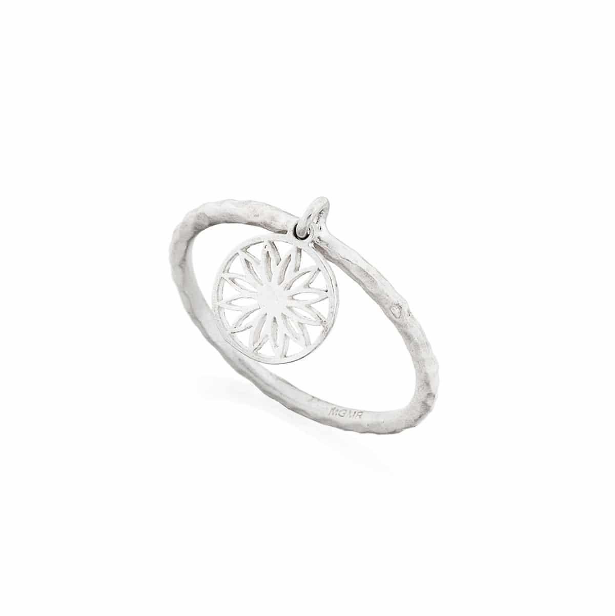 MANDALA Sterling silver Ring