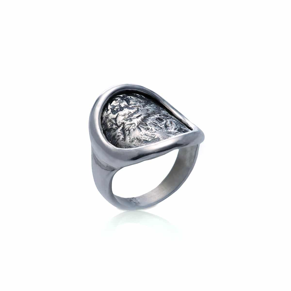Ancient Coin silver Ring