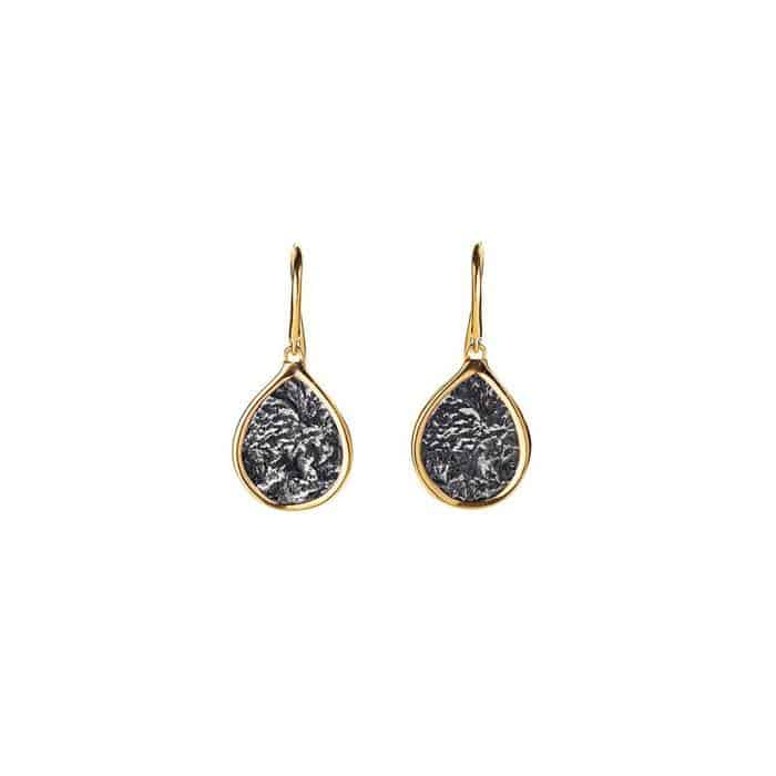 Ancient Coin Drop Earrings