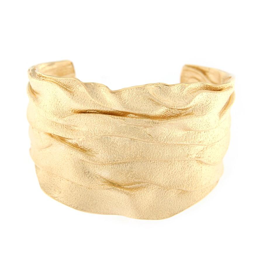 Pulsera de Plata Chapada en Oro