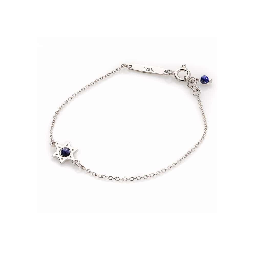 """""""Star of David"""" Silver Bracelet"""