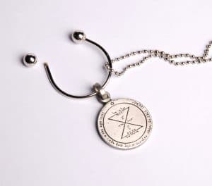 King Solomon's Key Holder Chain - Perfect Match Seal
