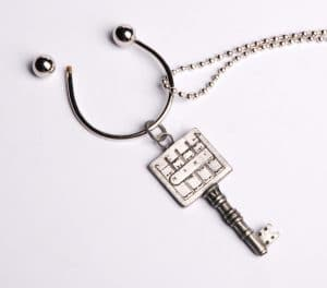 King Solomon's Key Holder Chain  - Clearing Path
