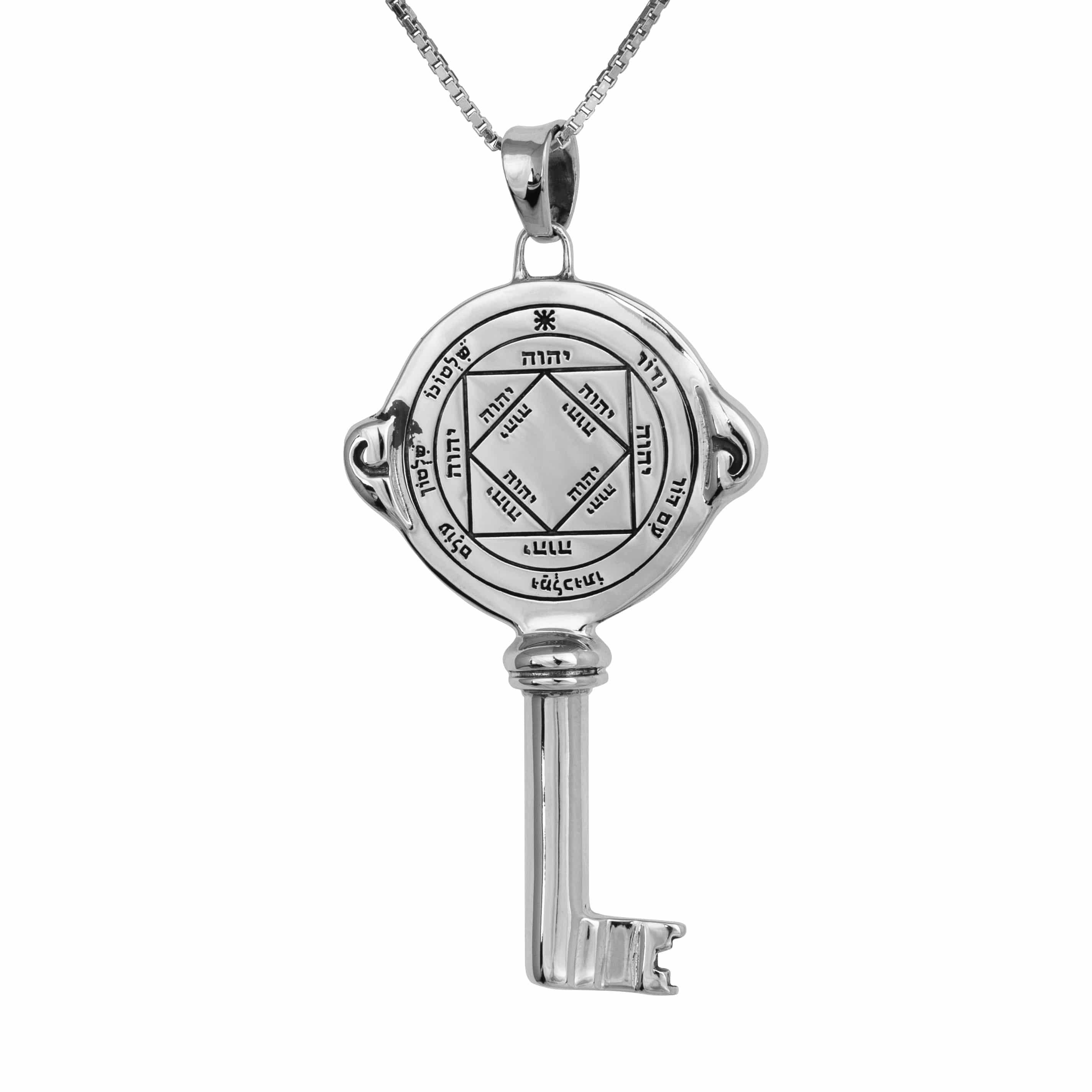 Collar de Plata del Sello del Rey Salomón - Victorioso