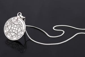 Silver King Solomon Seal Necklace - Love
