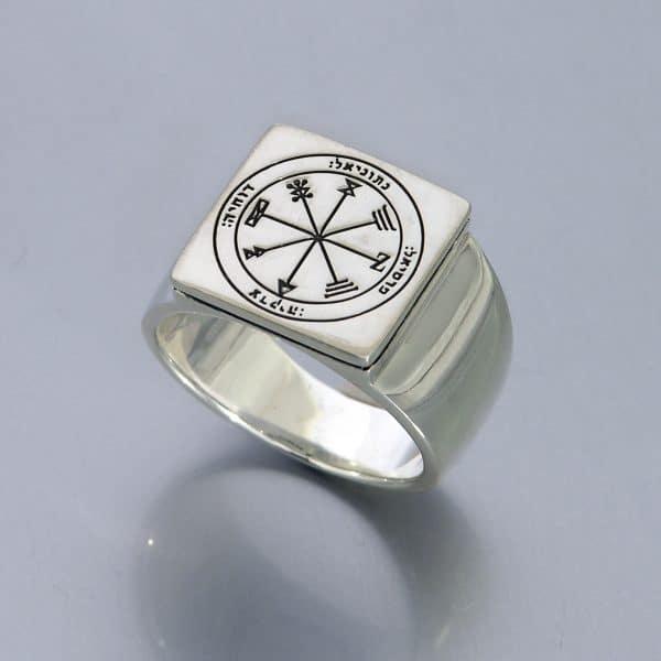 Seal of Solomon Ring Silver - Profusion