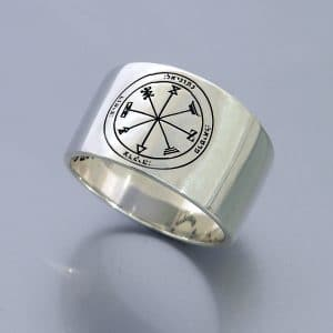 Silver King Solomon Seal Ring - Profusion