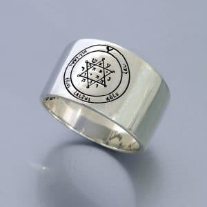 Silver King Solomon Seal Rings  - Tranquility