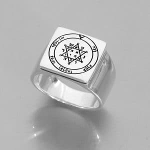 King Solomon Seal of Wealth - Ring