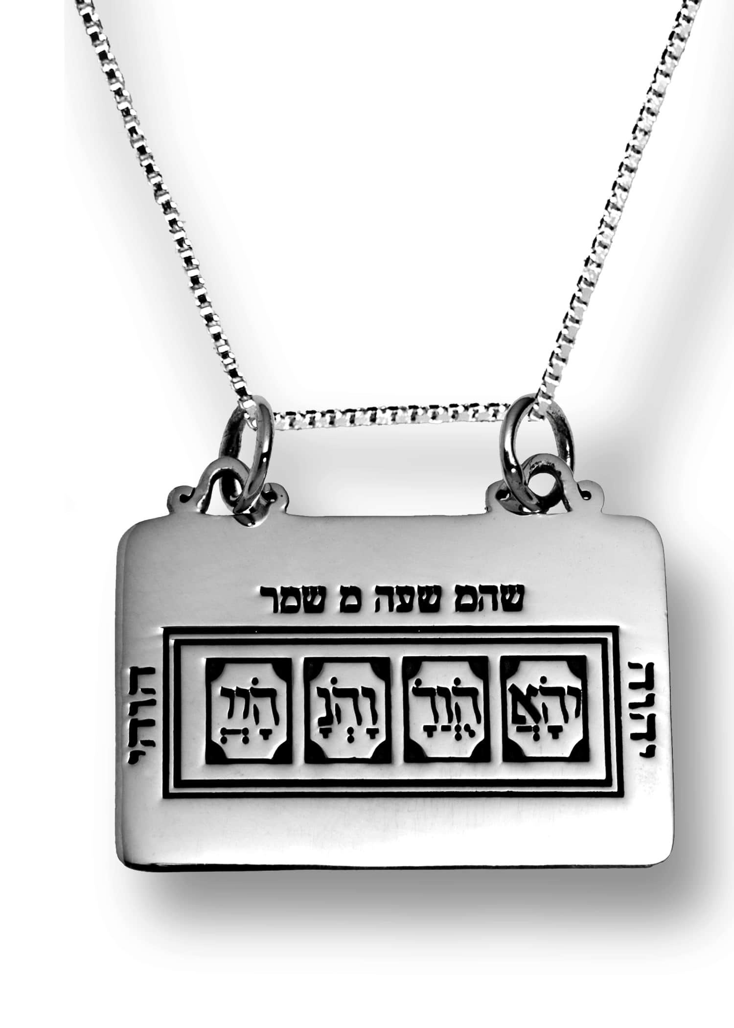 The code of Moses Pendant