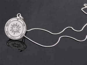 Silver King Solomon's Seal Necklace- Tranquility & Equilibrium
