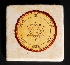 King Solomon Seal Tile 20X20CM - Tranquility & Equilibrium