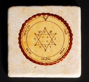 King Solomon's Seal Tile 20X20CM - Tranquility & Equilibrium