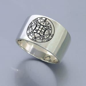 Silver King Solomon Seals Ring  - Love
