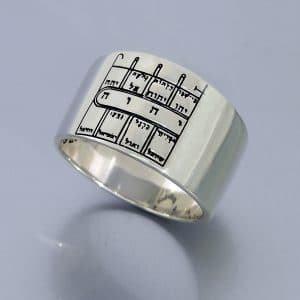 Silver King Solomon Seal Ring - Path Clearing