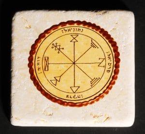 King Solomon's Seal Tile  - Profusion Seal 10X10CM
