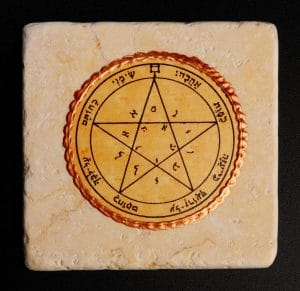 King Solomon Seal Tile 20X20CM - Wishes Seal