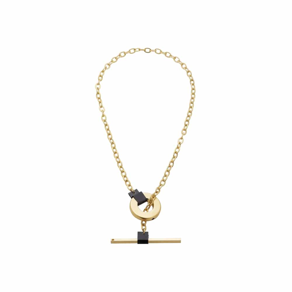A Kore tie necklace - Gold